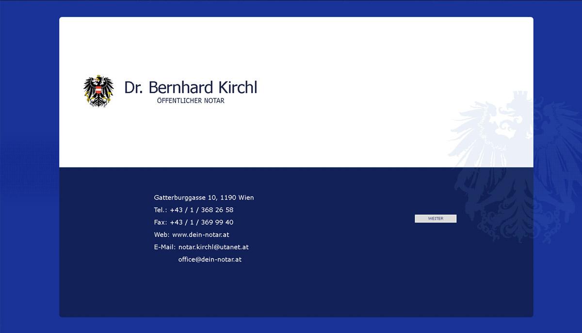 Webdesign für Notar Kanzlei